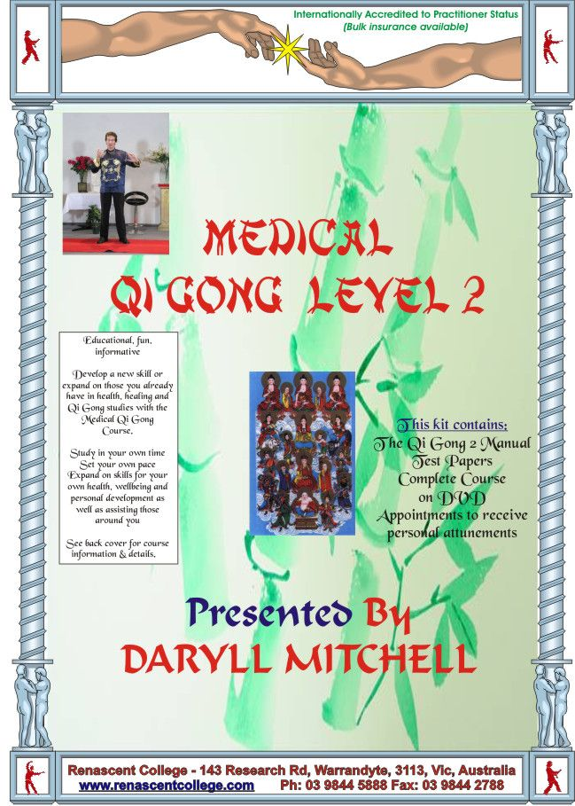 Medical Qi Gong, EMF's and many fascinating topics to study
