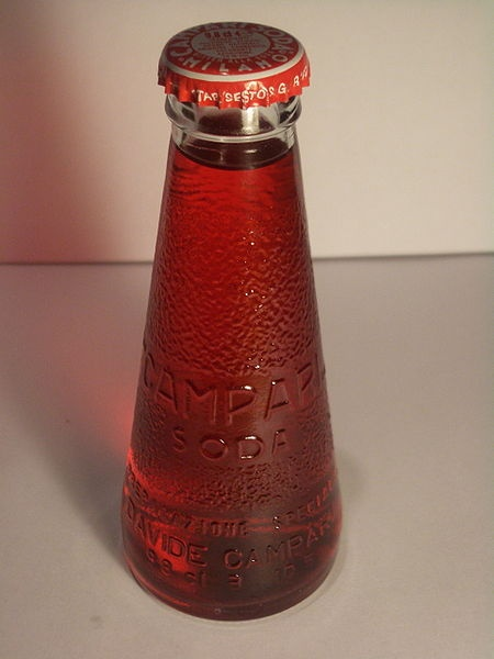Fortunato Depero  Campari Soda - original bottle design  1930