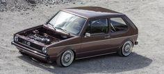 VW Golf 1 16V mit BBS und Airride: Lorenz gibt sich die Kante