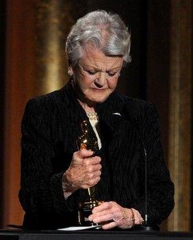 Finally!  Angela Lansbury with an Oscar.