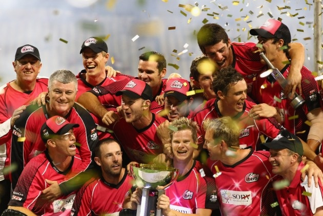 The mighty Sydney Sixers and the BBL