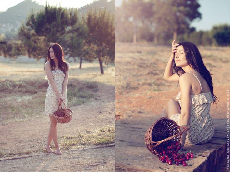 Коллекция фотоидей! Если вы снимаете портрет в кантри стиле, снимите обувь с модели, снимите украшения, и она сольется с природой! Автор: Наталья Челайе