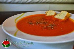 Zuppa di pomodoro facile e sana | Basil & Tomato