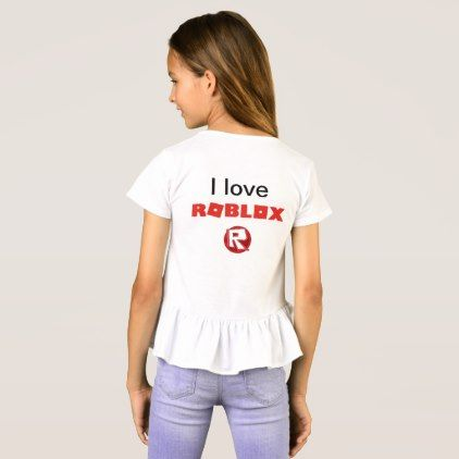 Roblox Shirt for girls - love gifts cyo personalize diy