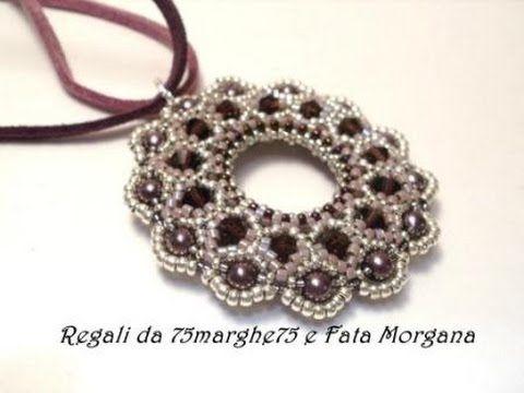 Sidonia's handmade jewelry - Vintage Swarovski beaded earrings - YouTube