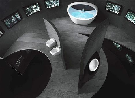 16 best futuristic bathrooms images on pinterest | room