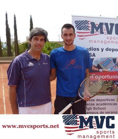 Ignacio con Miguel. Él se va a Escocia