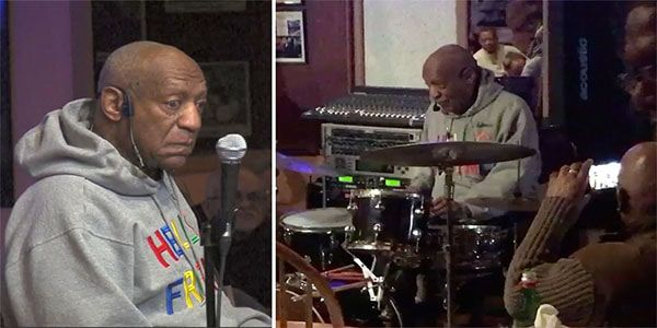 "Black Celebrity Gossip - Bill Cosby must feel like all the heat is off of him now and the public is more focussed on Harvey Weinstein. Last night the star of ""The Cosby Show"" made a special guest appearance at a jazz club in Philadelphia"