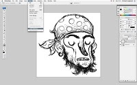 Profile for Mike Laughead - How to get a line drawing with a transparent background in Photoshop (Mac)