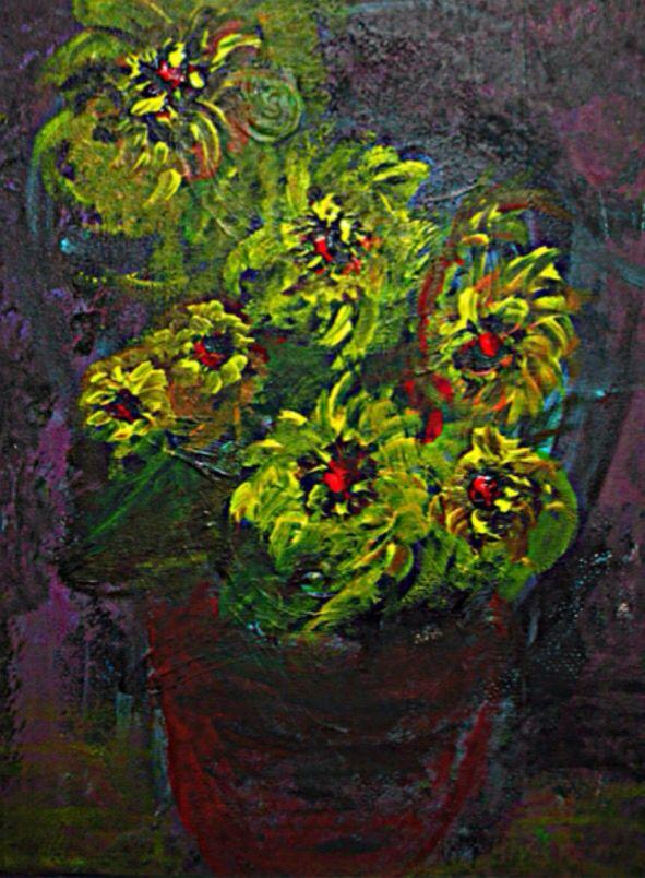 Acryl/Oil painting on canvas (small)