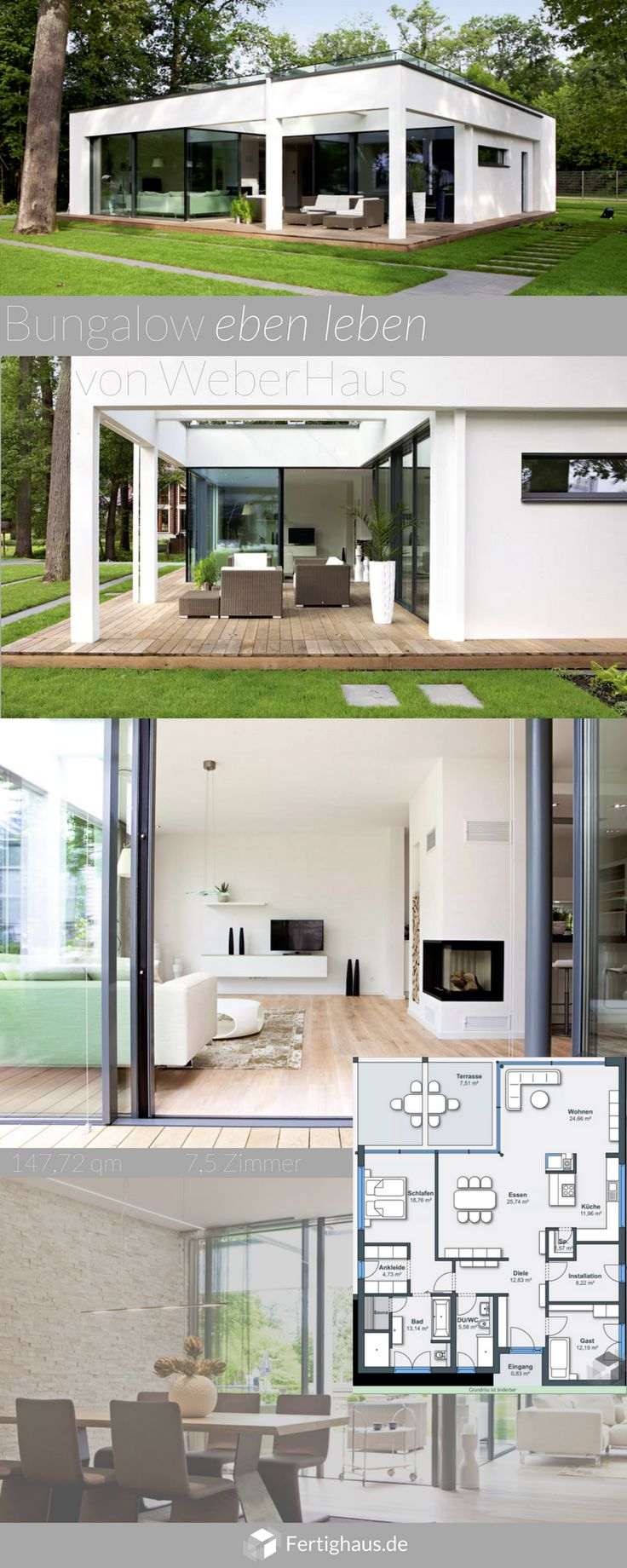 1628 best home design images on pinterest modern homes modern houses and contemporary. Black Bedroom Furniture Sets. Home Design Ideas