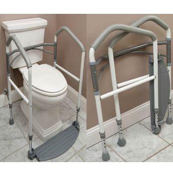 Windsor Direct Distribution LLC BKH-FE10P Foldeasy Toilet Surround Support