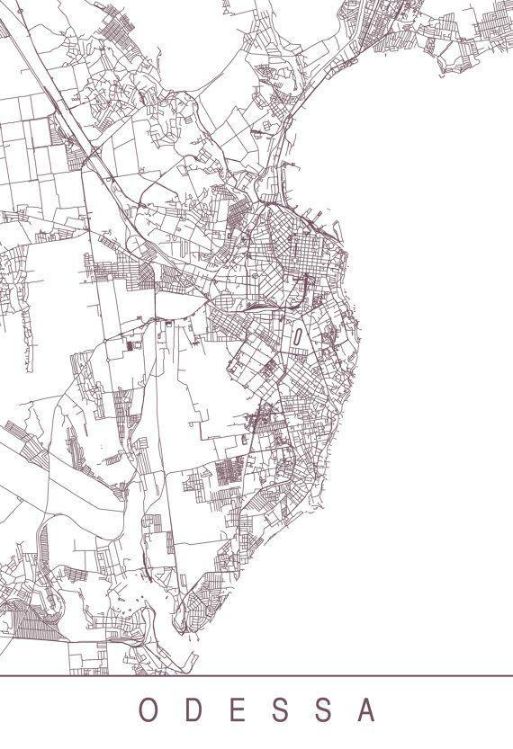 The 25 best Odessa map ideas on Pinterest
