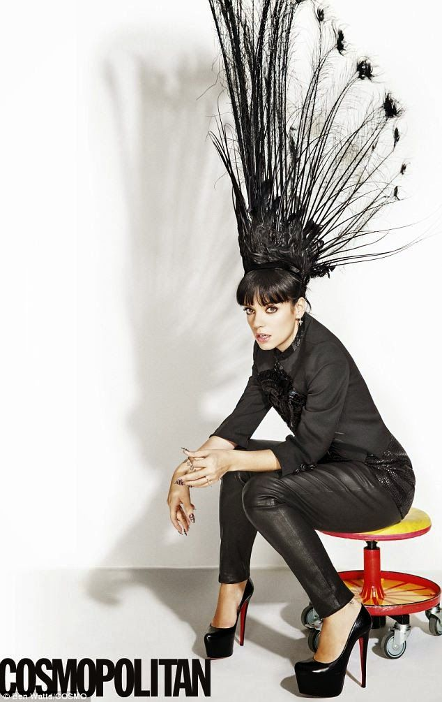 LoveLouboutin: Lily Allen pour le Cosmopolitan US, porte des Daff...