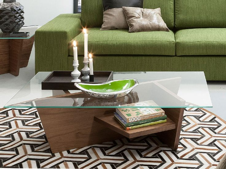 Oliva Coffee Table - Need somewhere to keep your bottle of wine or beers?