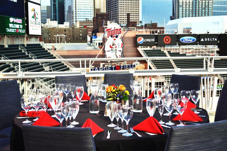 Target Field Amenities Map