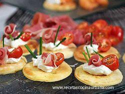 recetas argentinas cocina tradicional latinoamericana y mas : COMO PREPARAR BLINIS SALADOS