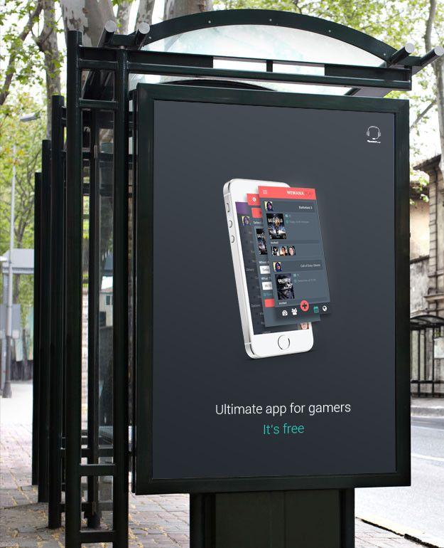 Branding for gaming social app Author: Jakub Mendel
