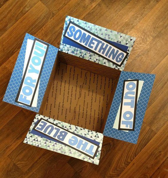 Care Package Decorating Kit Out of the Blue by OneDayCloserDesign