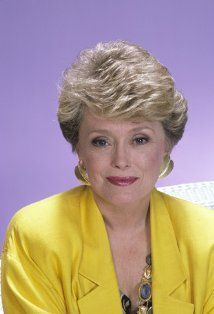 Rue McClanahan (February 21, 1934 - June 3, 2010) American actress (o.a. as Blanche from The Golden Girls).