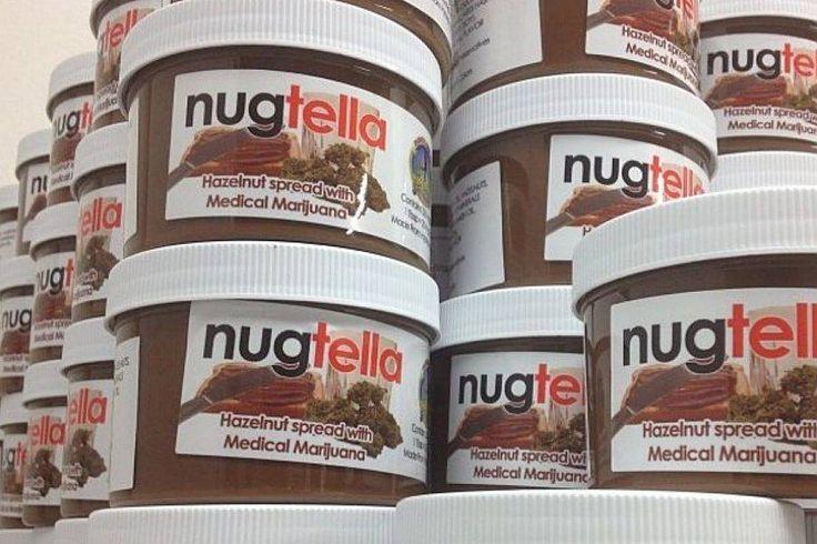 'Nugtella': creme de avelã com maconha é criado por empresa dos EUA. Legalização estimula abertura de novos negócios; mercado pode chegar a US$ 20 bilhões anuais. Veja mais em http://oesta.do/1dpwFoR