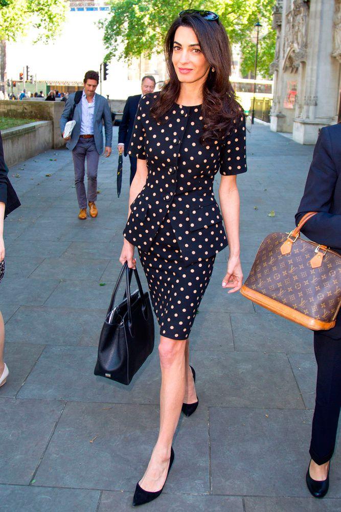 looks inspiracion polka dots estampado celebrities