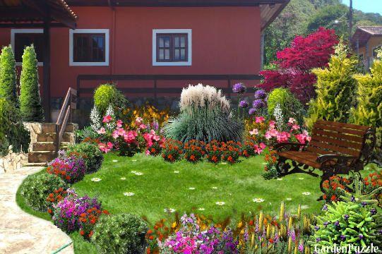backyard - GardenPuzzle - online garden planning tool