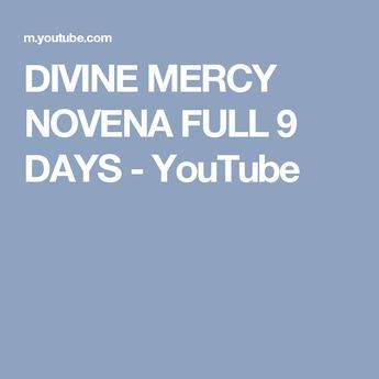 9 day Novena of St Faustina Kowalska. Recommended by Catholic Priests.