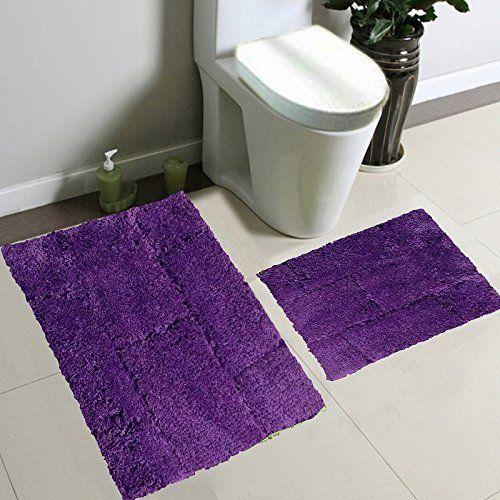 microfiber rug purple bathroom accessories