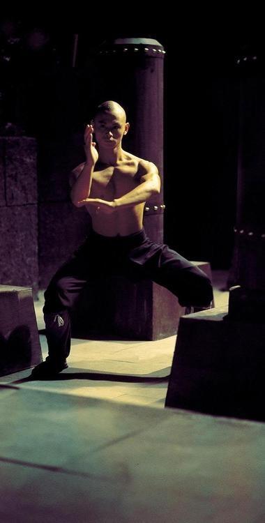 "Gordon Liu in ""The 36th Chamber of Shaolin."""