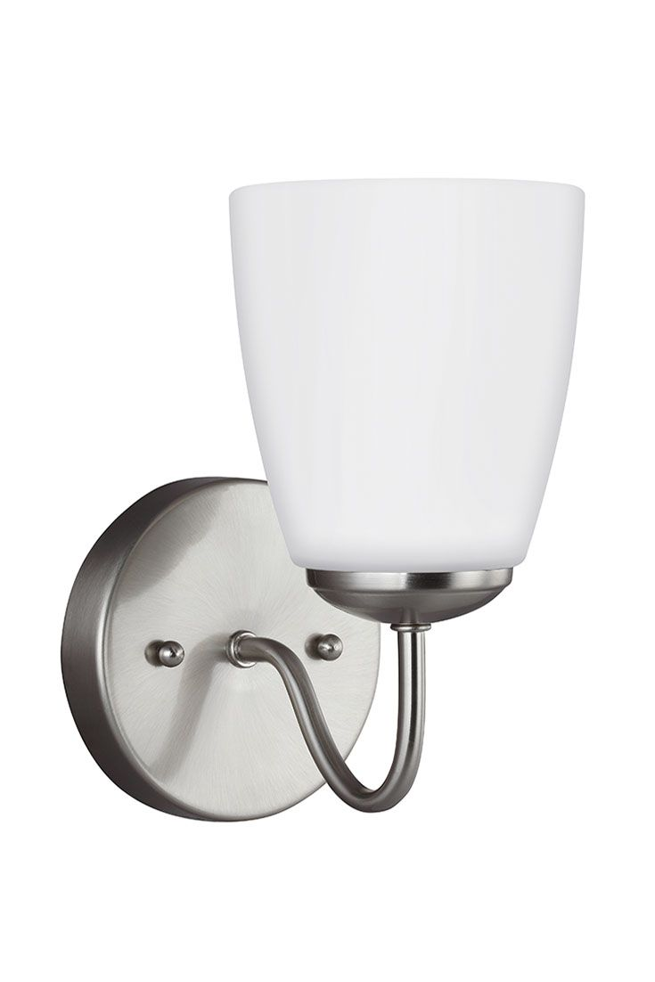 Bannock 1 Light Wall Bath Sconce By Sea Gull Lighting Allows This Transitional