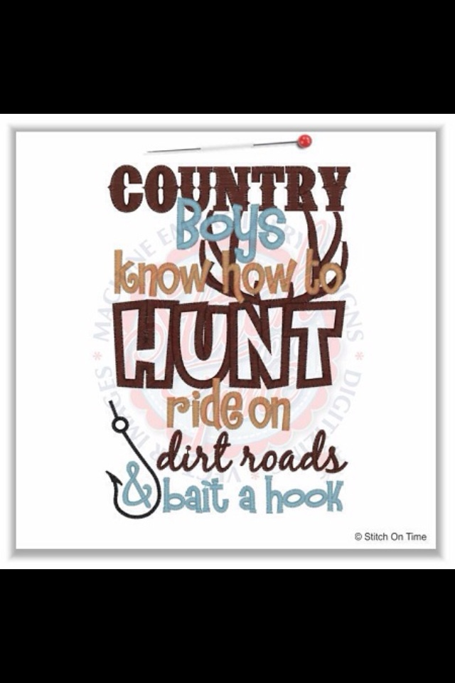 I love country boys and redneck boys they know how to have a good time