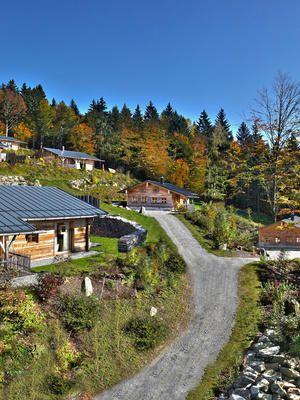 Das Bergdorf Hüttenhof in Grainet