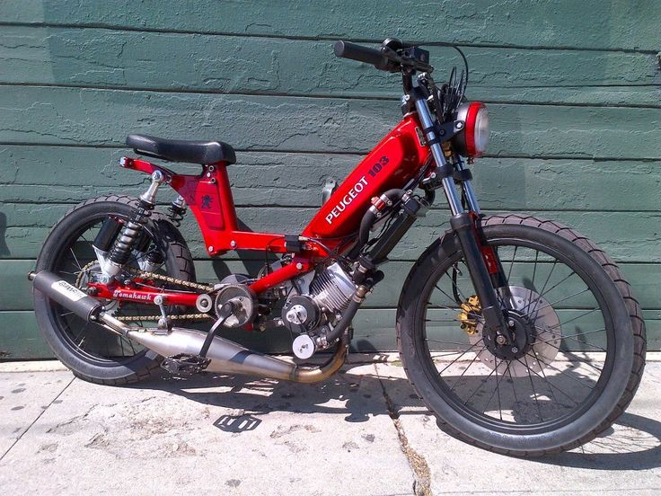 Mobylette 103 moped