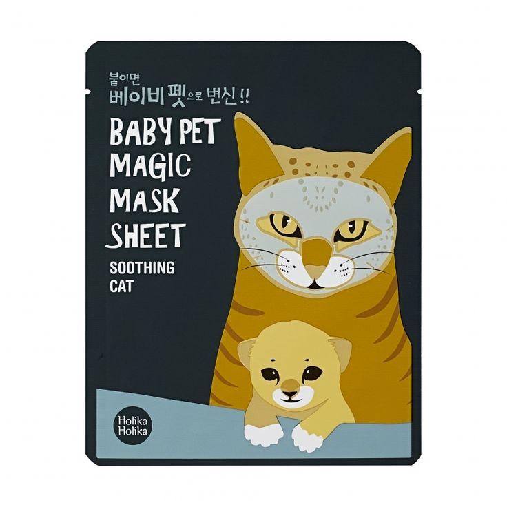 Holika Holika – Baby Pet Magic Mask Sheet (Cat)