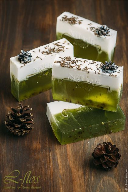 Handmade soap `Snow el`- 270 rubles !!! Does not contain sodium lauryl sulfate (SLS) !!!
