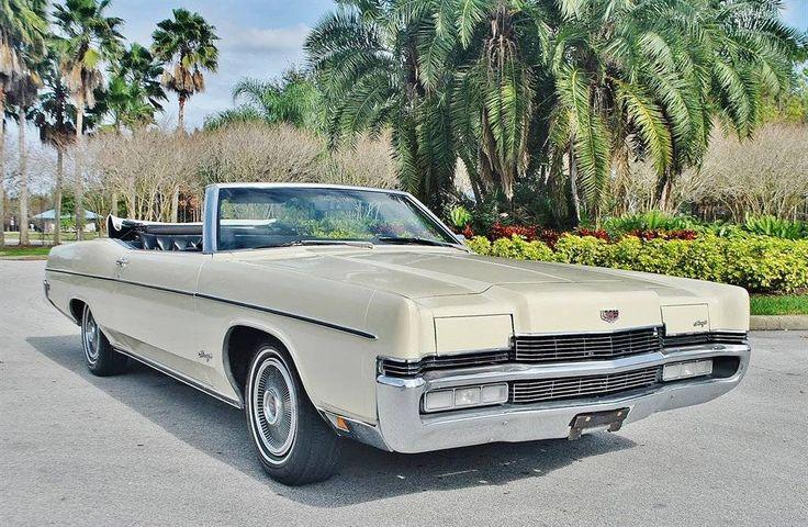 1970 Mercury Marquis Convertible.