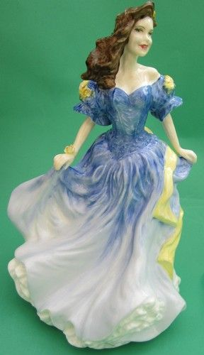 ROYAL DOULTON PORCELAIN FIGURINE LADIES LADY FIGURE OF YEAR REBECCA 1998 HN4041 | eBay