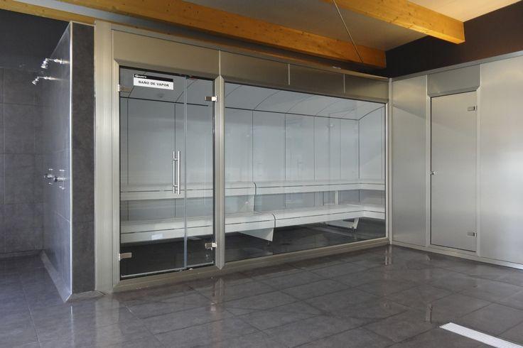 Baño de vapor de Cabina prefabricada acrylic by INBECA