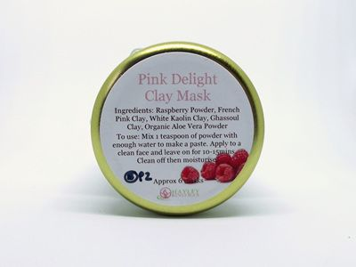 Pink Delight Clay Mask