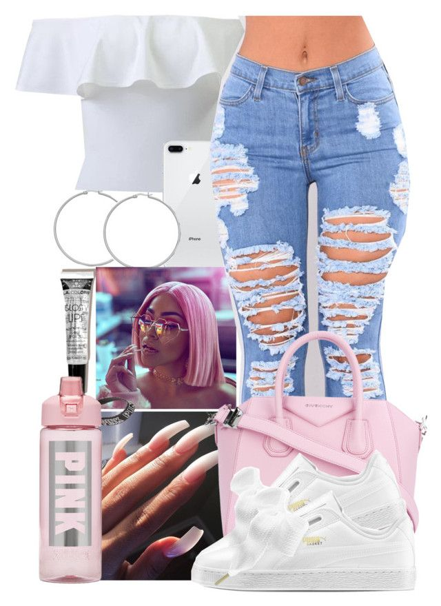 """""""Mall"""" by pimpcessjayyy ❤ liked on Polyvore featuring Victoria's Secret and Givenchy"""