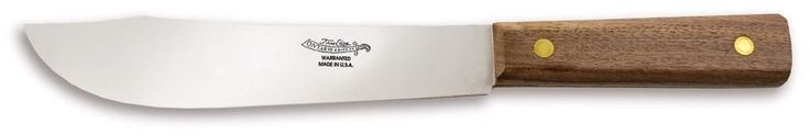 CABBAGE KNIFE 2436 6  BUTCHER KNIFE BY ONTARIO KNIFE AND OLD HICKORY KNIFE