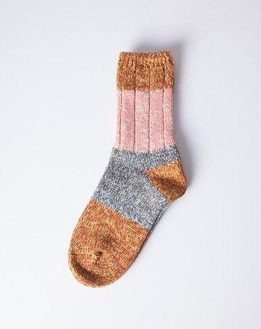Kapital Van Gogh Socks in Yellow   Covet + Lou