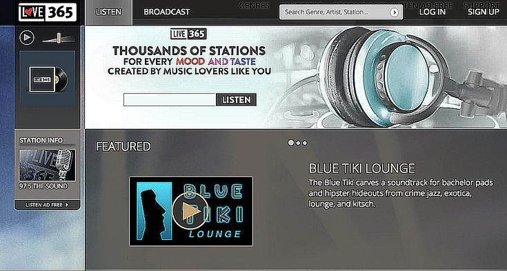 The 25 Best Free Music Streaming Sites: Live 365
