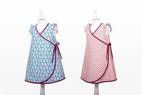 Kinderkleid Schnittmuster 2-in-1