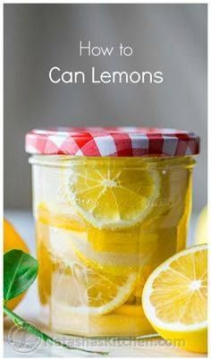 How to can lemons. S How to can lemons. So easy and makes for a...  How to can lemons. S How to can lemons. So easy and makes for a darling gift! natashaskitchen Recipe : http://ift.tt/1hGiZgA And @ItsNutella  http://ift.tt/2v8iUYW