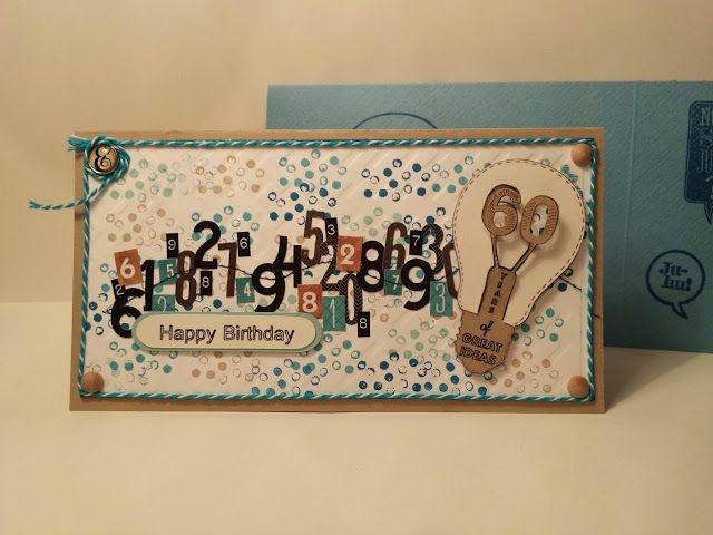60 th Birthday Card Karte zum 60. Geburtstag