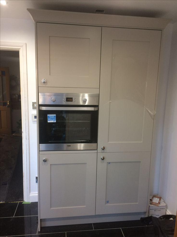Built In Fridge Freezer And Oven Housing Unit Built In