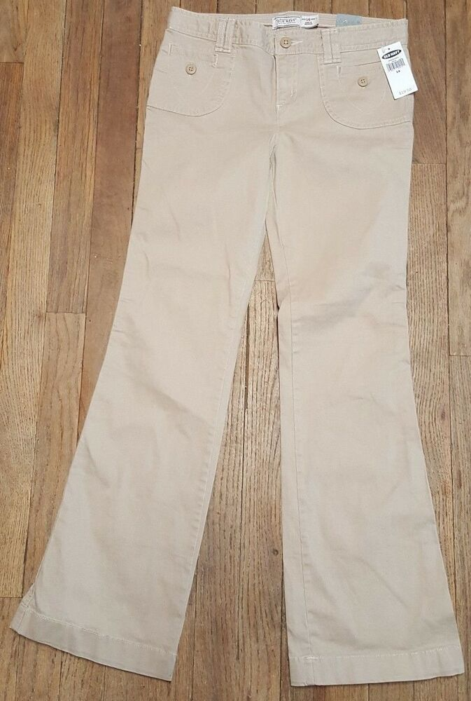 62274bbe2 Old Navy Nwt Girl's Low rise Boot cut Khaki Pants 14 #U-15 #. Visit.  January 2019