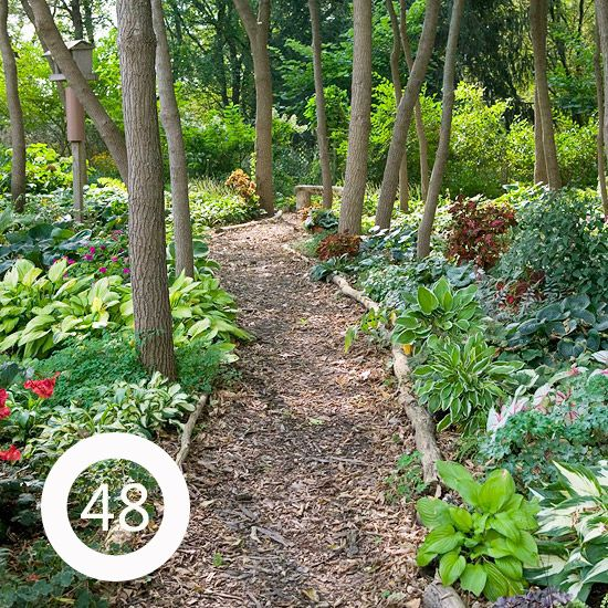 Landscaping Ideas With Large Trees : New house ideas gardens the secret garden and large